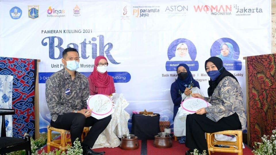 "ASTON Priority Simatupang Hotel & Conference Center mempersembahkan ""Virtual Batik Art 2021 in collaboration with Women Indonesia""."